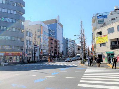 買い物環境の充実の「新高円寺駅」